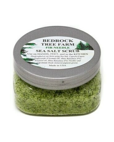 Sea Salt Scrub from Bedrock Tree Farm