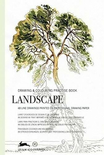 Pepin Landscape Coloring Book