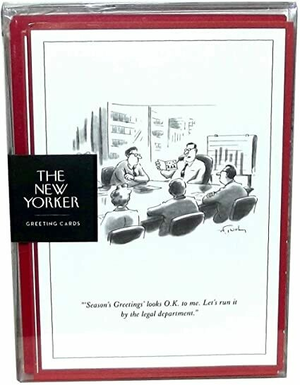 New Yorker Holiday Cards