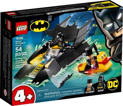 Lego Superhero Batman Boat