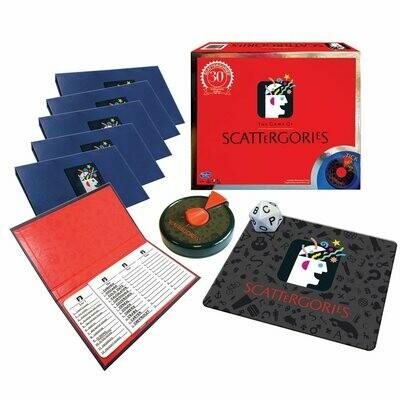 Scattergories 30th Anniversary Edition