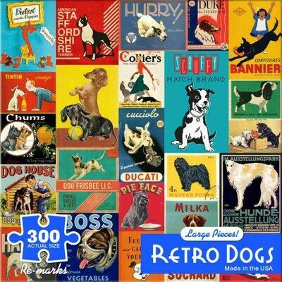 300 Retro Dogs