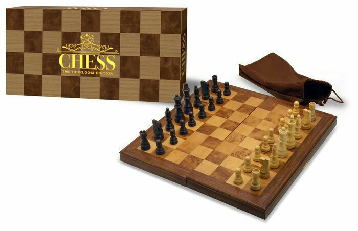 Heirloom All Wooden Pieces and Board