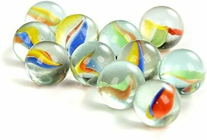 Ridley's Set of 40 Glass Marbles