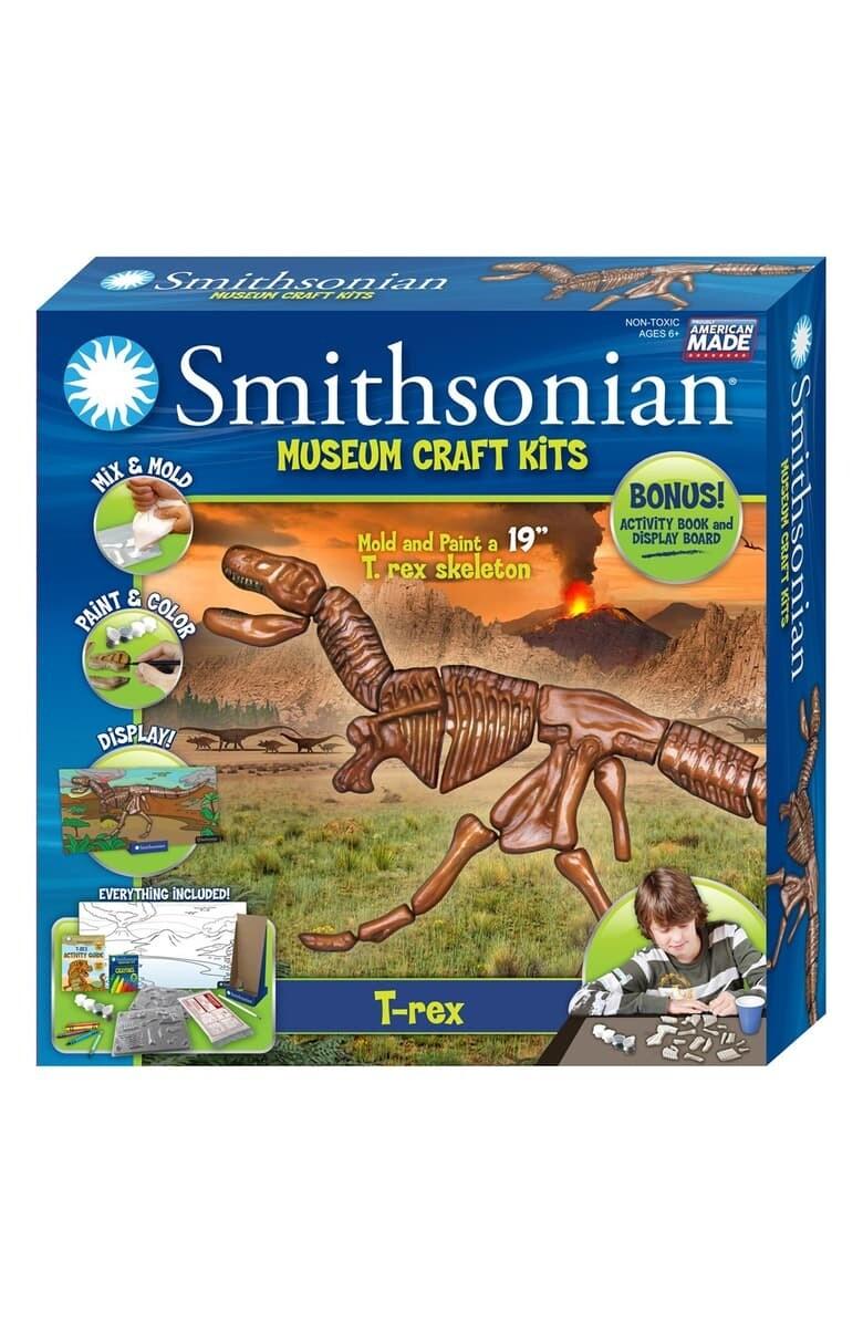 Smithsonian Mold & Paint Craft Kits