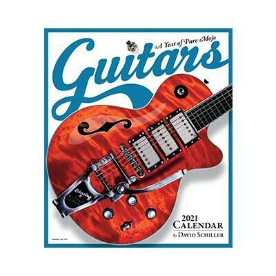 2021 Guitars Wall Calendar