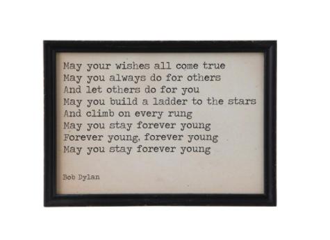 Dylan Wishes Framed Print