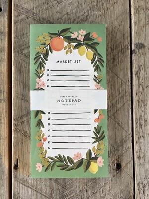 Market Pad Citrus Floral
