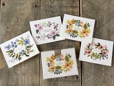 Notecard Set - Bouquet