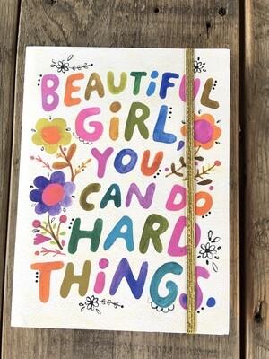 Beautiful Girl Journal
