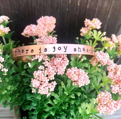 There is Joy Ahead Bracelet