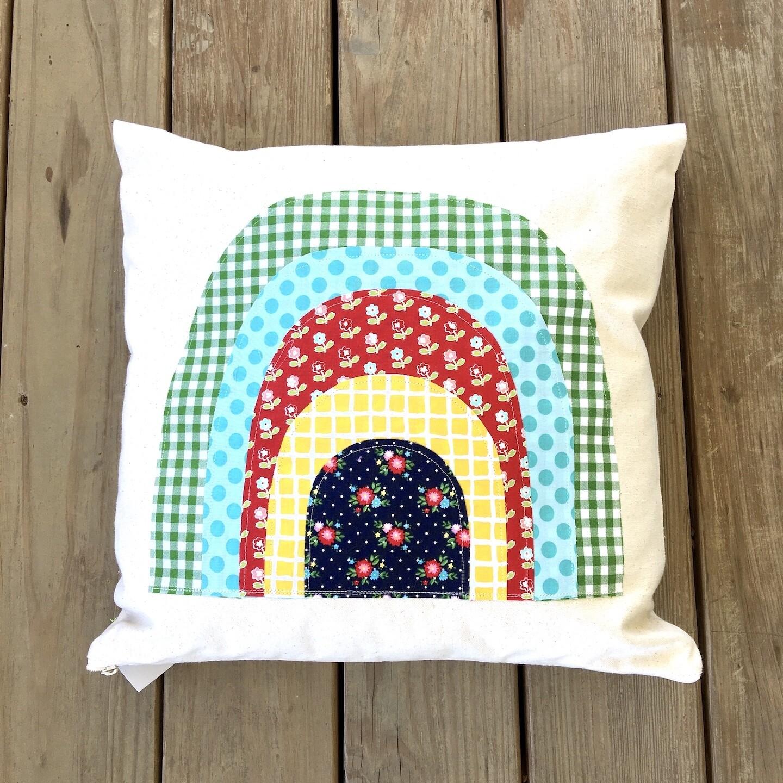 Rainbow Pillow - Large
