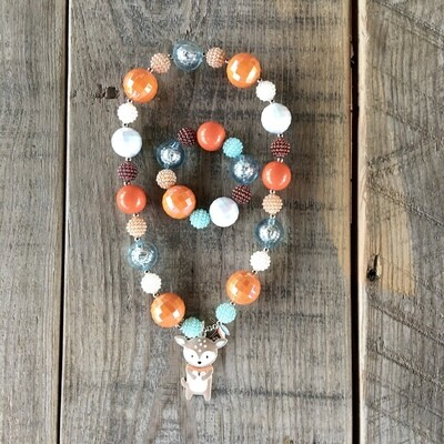Bubblegum Neck/Bracelet