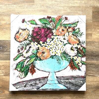Floral Bouquet Canvas