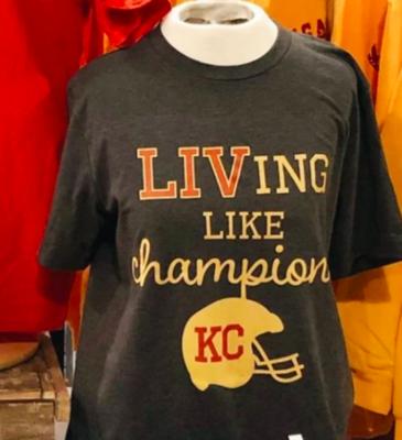 Grey LIVing Like Champions