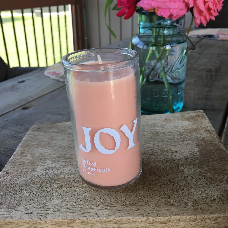 Joy Prayer Candle