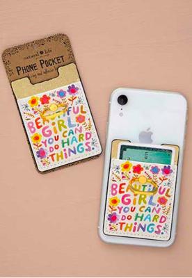 Phone Pocket Ring Beautiful Girl