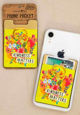 Phone Pocket Ring Kindness Matters