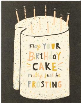 Birthday Frosting Card