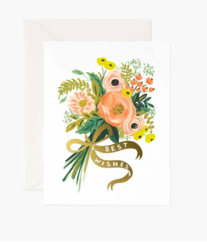 Wedding Best Wishes Bouquet