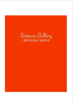 Fortune Telling Birthday Book