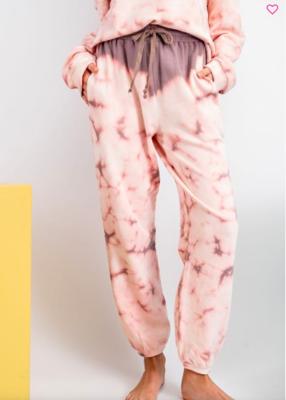 Mauve Tie Dye Sweatpants