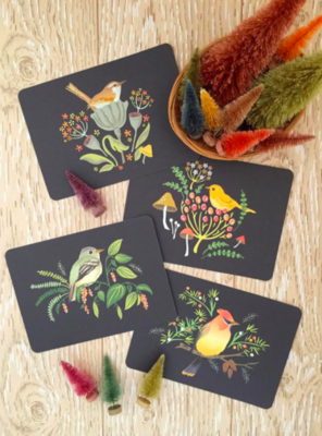 Autumn Songbirds Notecards