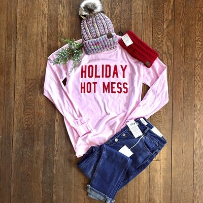 Holiday Hot Mess T