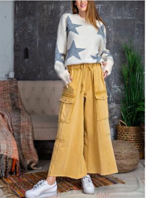 Mustard Cargo Pants