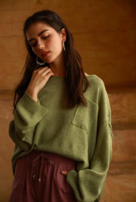 Sage Knit Sweater