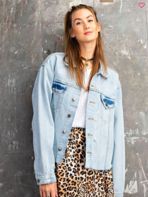 Lt Wash Denim Jacket