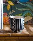 Black & White Ziva Pot
