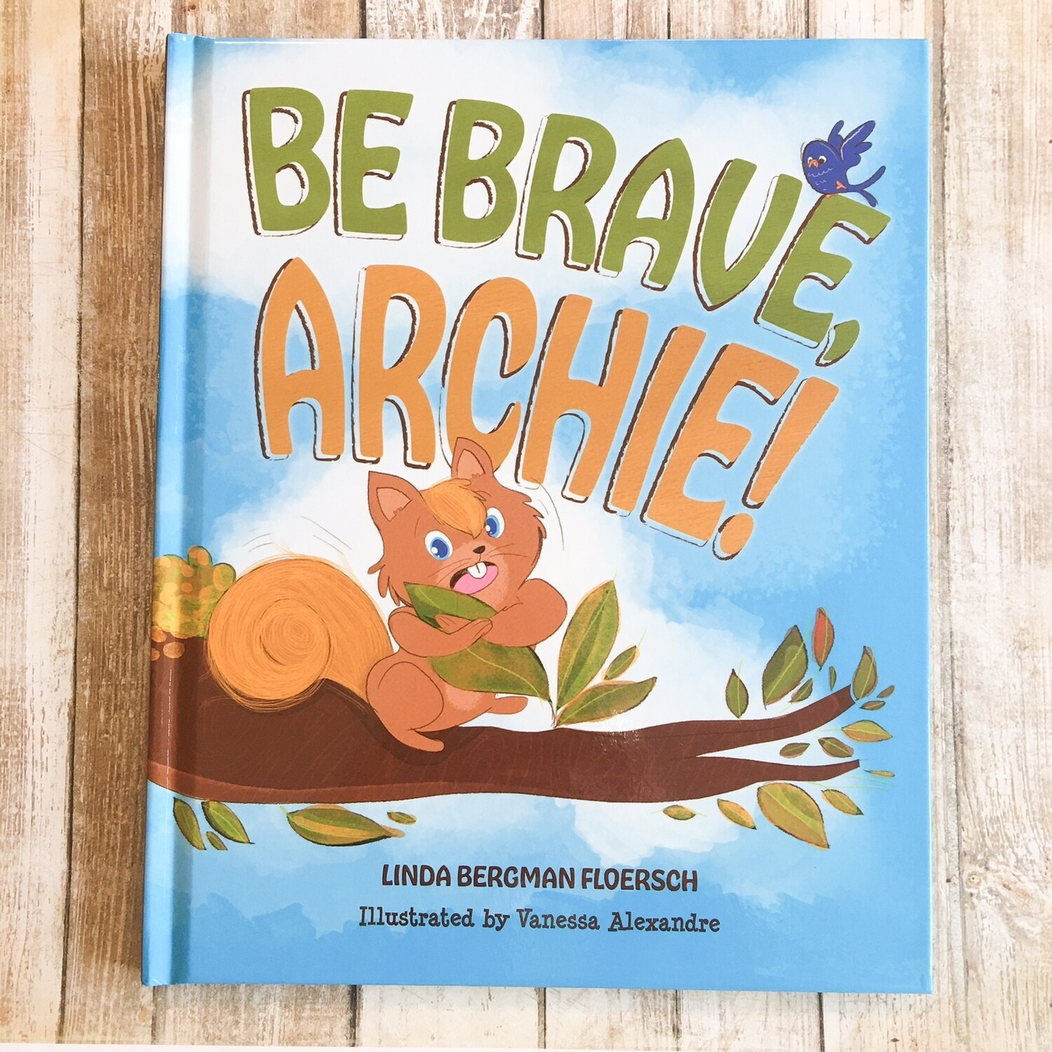 Be Brave, Archie! Book