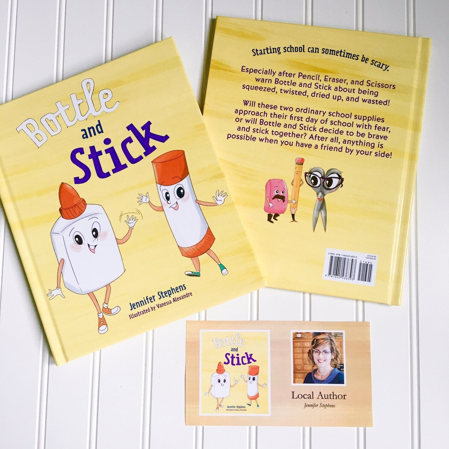 Bottle and Stick Book