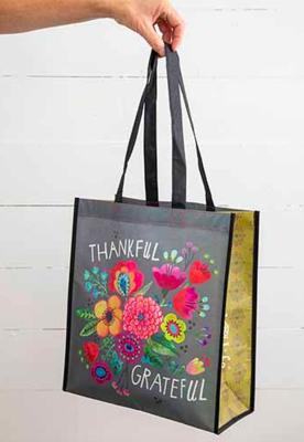 Thankful Grateful XL Happy Bag