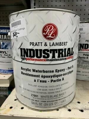 Pratt & Lambert Acrylic Waterborne Epoxy Pt A