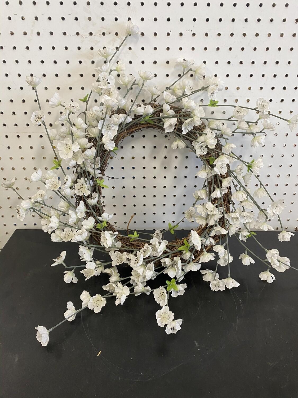Flower Wreath - White Flowers