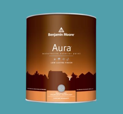 Benjamin Moore - Aura Waterborne Exterior Paint in Ash Blue