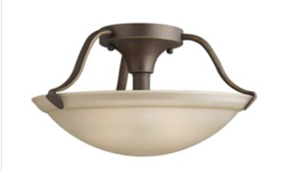 Kichler 2-Light Semi-Flush Ceiling Fixture
