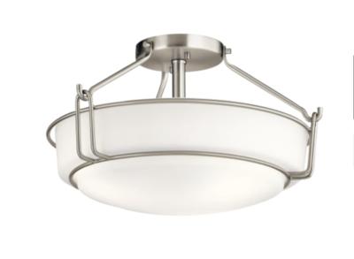 Kichler - Alkire 3-Light Semi-Flush Ceiling Fixture