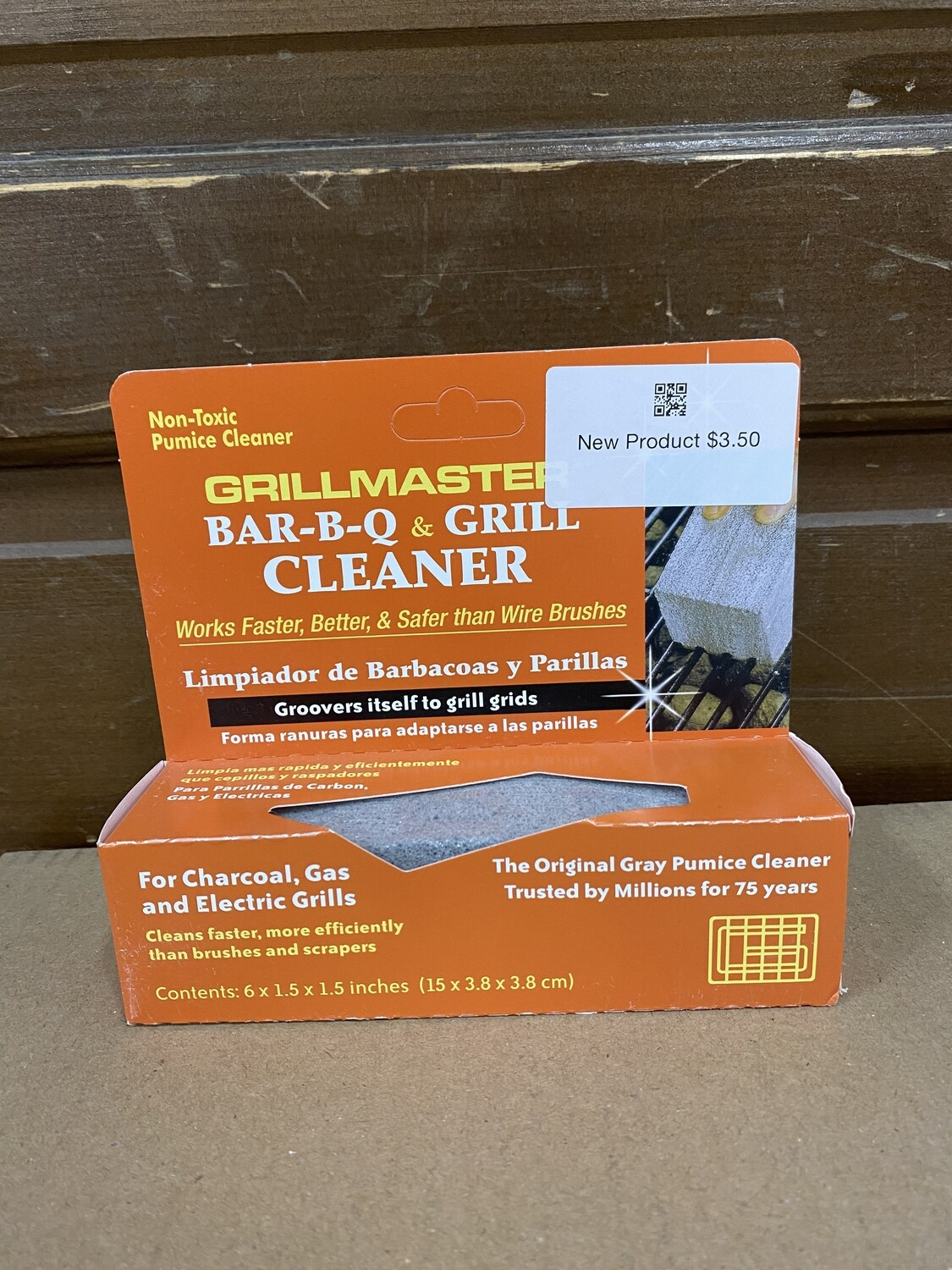 Grillmaster BBQ Grill Cleaner