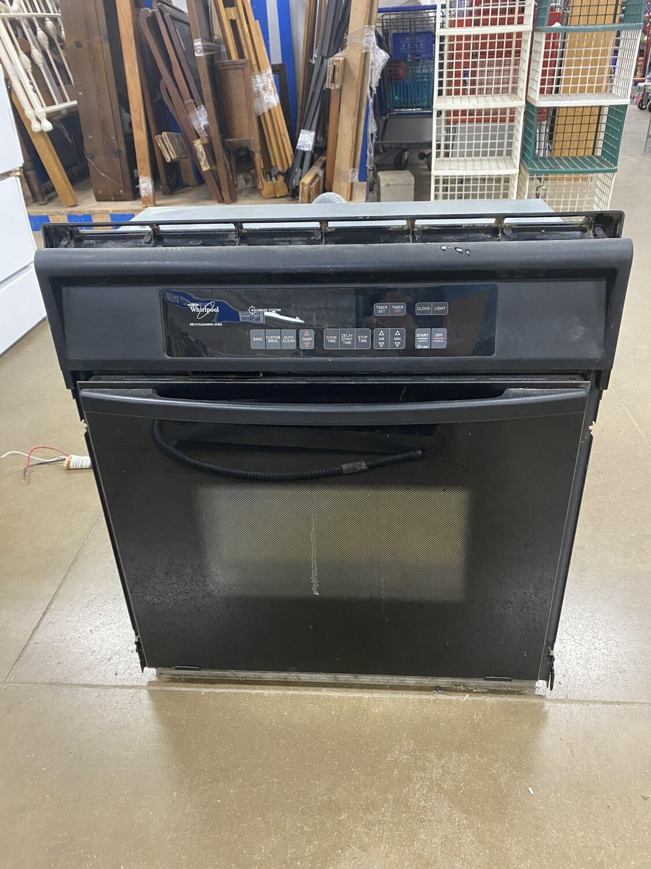 Whirlpool Black Wall Oven