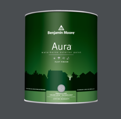 Benjamin Moore - Aura Waterborne Exterior Paint in French Beret