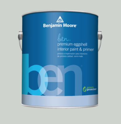Benjamin Moore Premium Interior Paint + Primer in Sterling