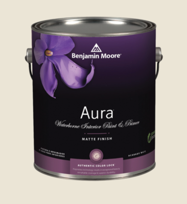 Benjamin Moore - Aura Waterborne Interior Paint in White Down
