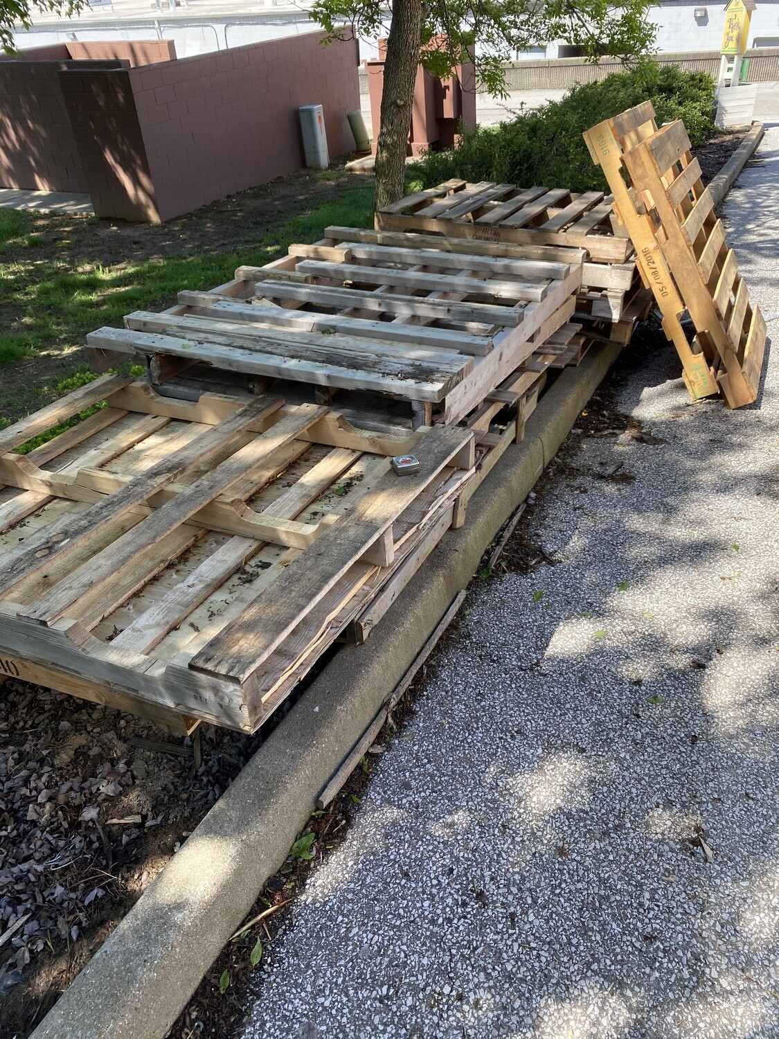Assorted Wooden Pallets
