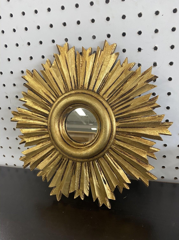 Sun Wall Decor with Mirror