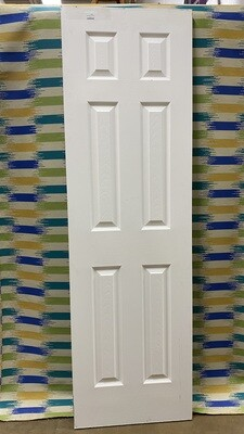 Interior Hollow Core 6 Panel Door 24""