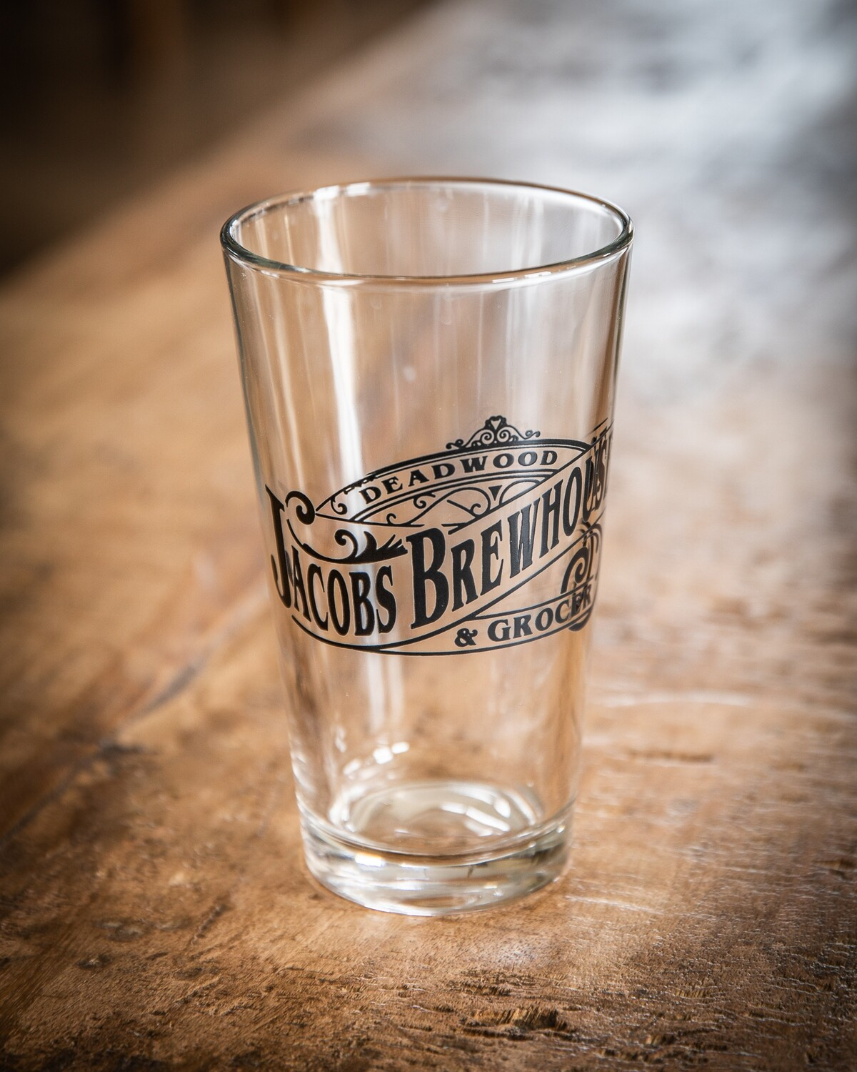 16oz Logo Pint Glass