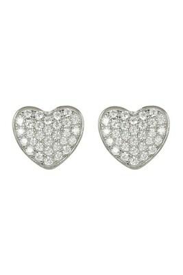 Liza Schwartz Touch my heart earring/screw ring